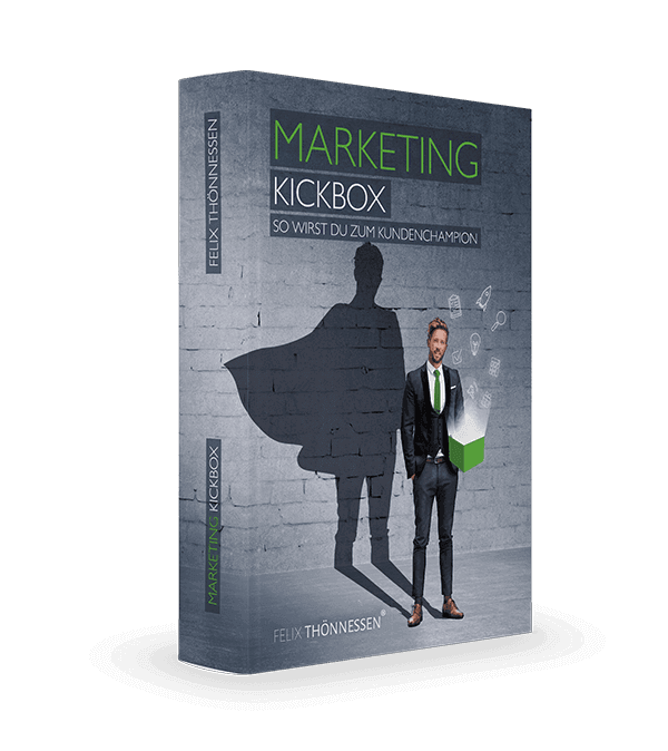 GRATIS BUCH: Marketing Kickbox von Felix Thönnessen