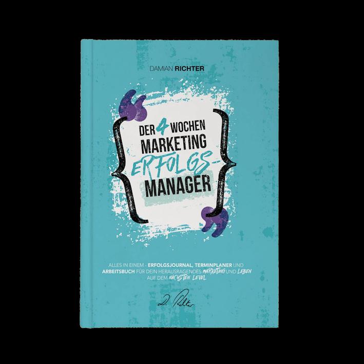GRATIS BUCH: Der 4 Wochen Marketing Erfolgs-Manager
